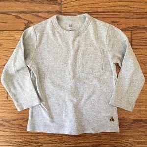 Baby Gap Long Sleeve Pocket T-shirt
